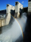 1. duben 2007, duha ve vodní tříšti