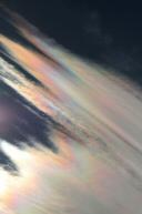 26. říjen 2007, irizace oblaků