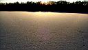 3. leden 2009, halo na sněhu