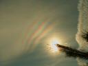 22. únor 2009, irizace oblaků