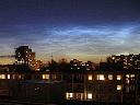 14. červenec 2009, noční svítící oblaky
