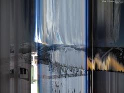 Krkonoše - Medvědín, celodenní záznam z 22.12.2010 - keogram